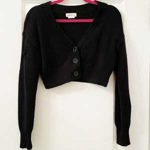 Lovers and friends cropped cardigan